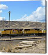 Up 5400 Passing Through Canvas Print