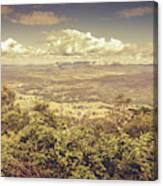 Up Above The Land Down Under Canvas Print