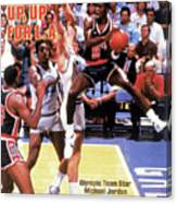Up, Up For La 1984 Los Angeles Olympic Games Preview Issue Sports Illustrated Cover Canvas Print