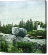 Upon This Rock Canvas Print