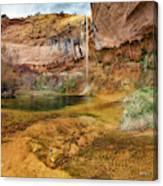Upper Calf Creek Falls Utah Canvas Print