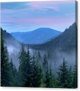 Upper Priest Lake Scenic Area Canvas Print