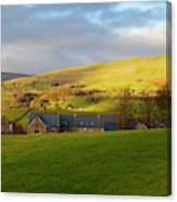 Upper Wensleydale And Lovely Seat From Hawes In Yorkshire Dales Canvas Print