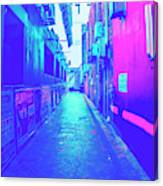 Urban Neon Canvas Print