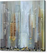 Urban Reflections I Night Version Canvas Print