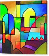 Urbanity 2 Canvas Print