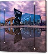 Us Bank Stadium In Minneapolis Canvas Print
