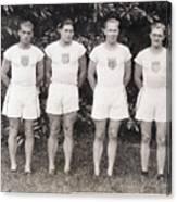 U.s. Olympic Decathlon Team Canvas Print