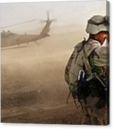 Us Soldiers On Special Operations In Canvas Print