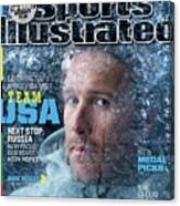 Usa Bode Miller, 2014 Sochi Olympic Games Preview Issue Sports Illustrated Cover Canvas Print