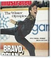 Usa Brian Boitano, 1988 Winter Olympics Sports Illustrated Cover Canvas Print