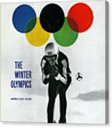 Usa Buddy Werner, 1964 Innsbruck Olympic Games Preview Sports Illustrated Cover Canvas Print