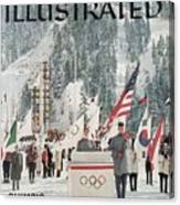 Usa Carol Heiss, 1960 Winter Olympics Sports Illustrated Cover Canvas Print