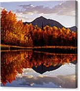 Usa, Colorado, Telluride, Sunrise Peak Canvas Print