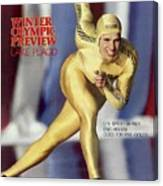 Usa Eric Heiden, 1980 Lake Placid Olympic Games Preview Sports Illustrated Cover Canvas Print