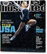 Usa Gracie Gold, 2014 Sochi Olympic Games Preview Issue Sports Illustrated Cover Canvas Print