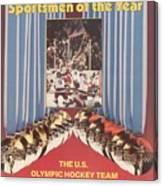 Usa Hockey, 1980 Winter Olympics Sports Illustrated Cover Canvas Print