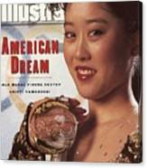 Usa Kristi Yamaguchi, 1992 Winter Olympics Sports Illustrated Cover Canvas Print