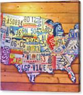 Usa License Plates Map