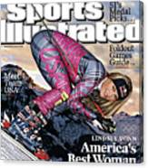 Usa Lindsey Vonn, 2010 Vancouver Olympic Games Preview Issue Sports Illustrated Cover Canvas Print
