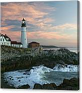 Usa, Maine, Cape Elizabeth, Portland Canvas Print