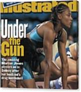Usa Marion Jones, 2000 Summer Olympics Sports Illustrated Cover Canvas Print