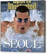 Usa Matt Biondi, 1988 Seoul Olympic Games Preview Sports Illustrated Cover Canvas Print