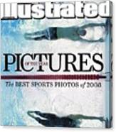 Usa Michael Phelps And Serbia Milorad Cavic, 2008 Summer Sports Illustrated Cover Canvas Print