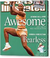 Usa Serena Williams, 2003 State Farm Womens Tennis Classic Sports Illustrated Cover Canvas Print