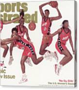 Usa Womens Basketball Team, 1996 Atlanta Olympic Games Sports Illustrated Cover Canvas Print