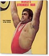 Ussr Vasily Alexeyev, 1972 Summer Olympics Sports Illustrated Cover Canvas Print