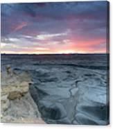 Utah Desert Sunrise Canvas Print