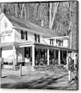Valley Green Inn  Canvas Print