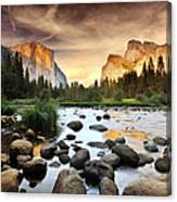 Valley Of Gods Canvas Print