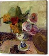 Vase Of Flowers 1886 Canvas Print