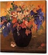 Vase Of Flowers 1896 Canvas Print