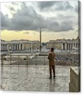 Vaticani View Canvas Print
