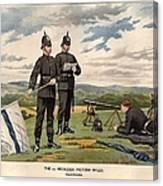 Victoria Rifles Canvas Print