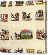 Victorian Travel Canvas Print