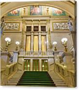 Vienna Opera House, The Main Hall Canvas Print