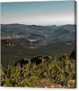 View From Flattop Mountain Trail Canvas Print