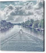 View From Kingston Bridge Canvas Print