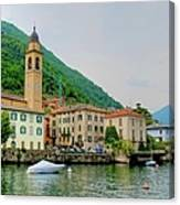 View From Laglio On Lake Como Canvas Print