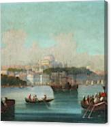View Of Istanbul - 1 Canvas Print