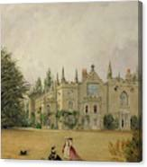 View Of Strawberry Hill Middlesex Canvas Print