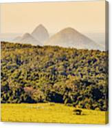 View To The Sunshine Coast Canvas Print
