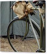 Vintage Bicycle World War II  Canvas Print