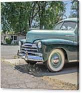 Vintage Car Chevy Fleetmaster Canvas Print