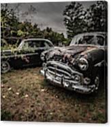 Vintage Cars Goshen Nh Canvas Print