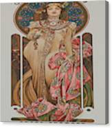 Vintage Poster - Champagne Canvas Print